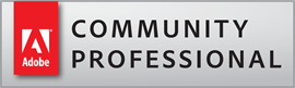 Adobe Community Professional Badge | Pariah Burke is an Adobe Community Professional