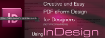 Creative and Easy PDF eForm Design for Designers (Using InDesign!)
