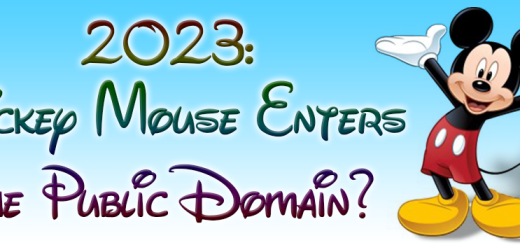 Is 2023 the year Mickey Mouse enters the public domain?