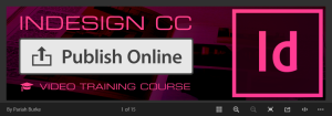 InDesign CC Publish Online Training Course by Pariah Burke